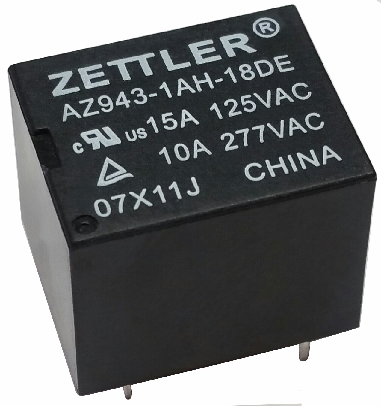 Power Electromechanical Relays American Zettler Inc Form C Relay Wiring Diagram Spst Az943 Product Picture