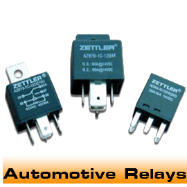 Electro Mechanical PCB and Plug-In Relays for Automotive use