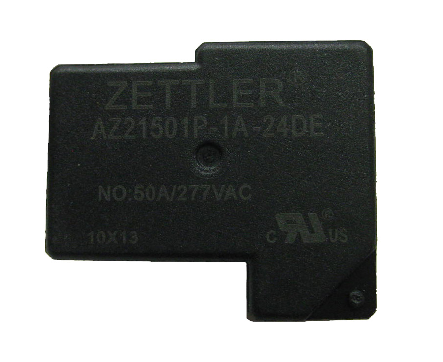 AZ21501P - 50 AMP MINIATURE LATCHING POWER RELAY