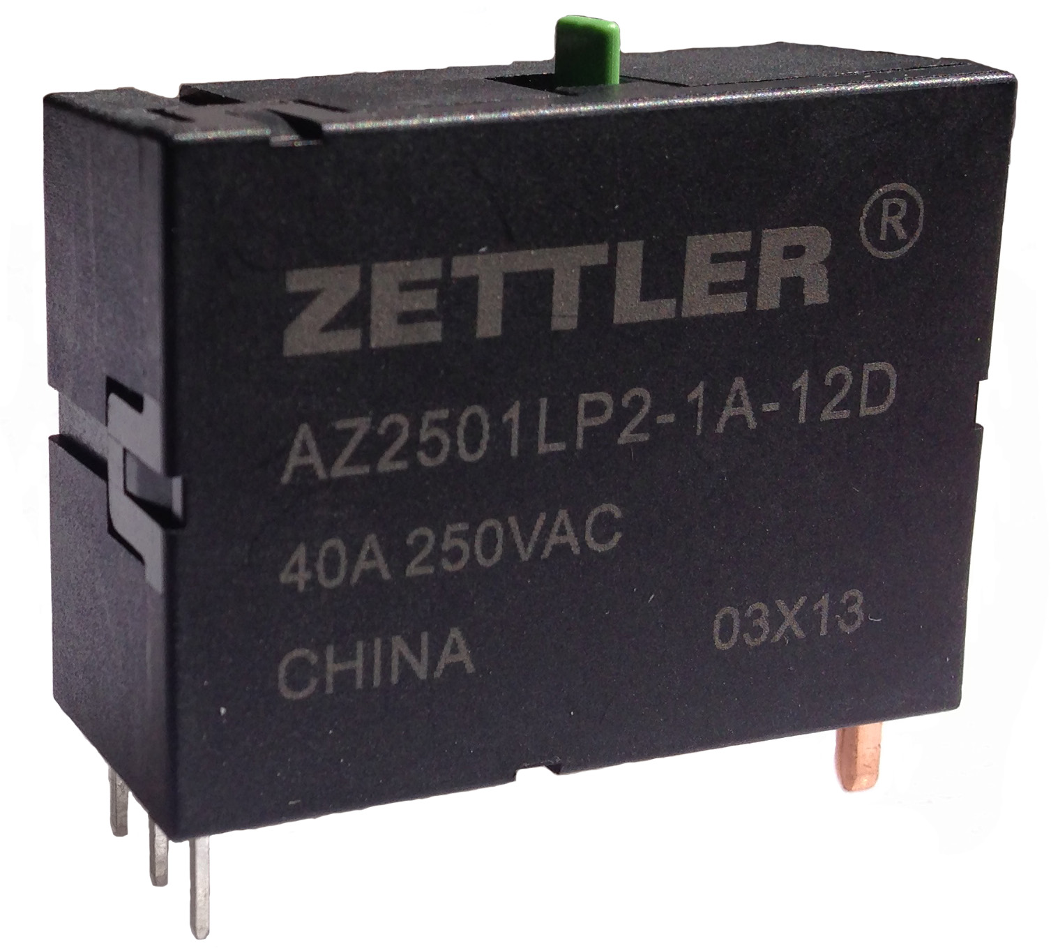 AZ2501L - 60 AMP LATCHING POWER RELAY