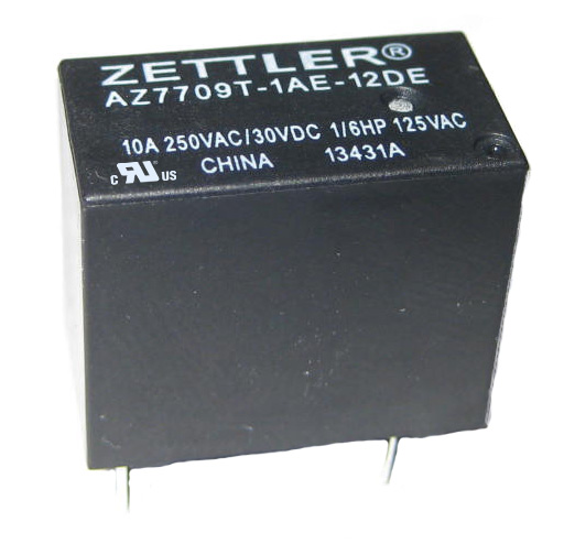 AZ7709 - 10 AMP SUB-MINI POWER RELAY
