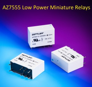 Miniature power relays reduce energy consumption and product energy management motor control and lighting applications is being introduced by american zettler the north american relay division sciox Choice Image