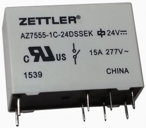 American zettlers az7555 relay a reliable component solution a leading manufacturer of plug and play switching devices needed a multi purpose relay with an extremely low power consumption american zettler sciox Choice Image