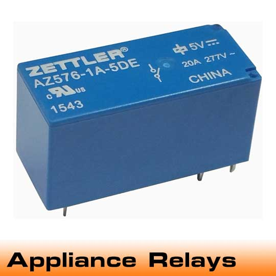 Appliance Electromechanical Relays