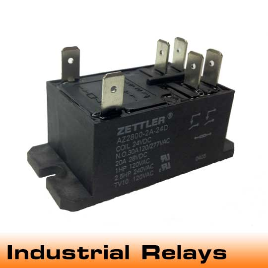 Building on its roots as an innovator of relays for automation and industry, American Zettler's relays and accompanying DIN-rail sockets are applicable for I/O and industrial control applications