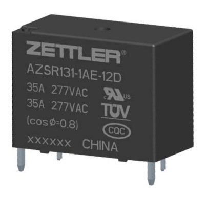 Relay application in renewable energy heat systems american azsr131 relays have ul and tuv recognized switch ratings of 35a277vac at 85c for 30k cycles their usage in heat pump controls demonstrates the versatile sciox Choice Image