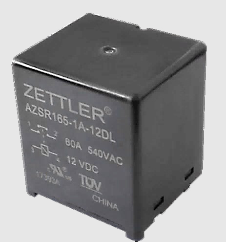 American zettler adds new products to its line up of solar relays with a footprint of only 38mm x 33mm the azsr165 and azsr190 bring high capacity switching into a compact pcb package sciox Choice Image